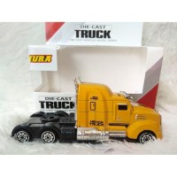 Mainan Diecast Kepala Truck Shimura Trailer Die Cast Container