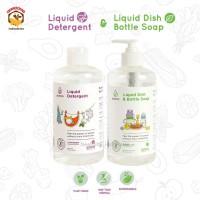 Pureco 500 ml - Liquid Dish Wash Bottle Soap | Liquid Detergent Sabun