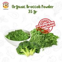 ORGANIC BROCCOLI POWDER 35 gr