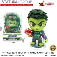 HOT TOYS COSBABY 570 HULK WITH NANO GAUNTLET 18831 ACTION FIGURE