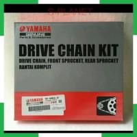 SPlanet ORIGINAL: Gear gir set Rantai gir roda set kit 3C1 Vixion Old