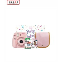 Fujifilm Instax Mini 9 Party Package Clear Pink