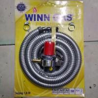 Regulator High Pressure Winn Gas Meter