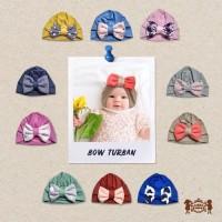 Petite Mimi Bow Turban Ciput Pita Bayi