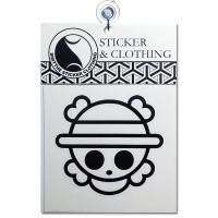 Stiker Chibi One Piece Logo anime onepiece Cutting Sticker Mobil Motor