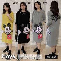 Baju Atasan Wanita Blouse Muslim Hoya Tunik Adhijab
