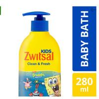Zwitsal Kids Clean and Fresh Bubble Bath Blue