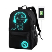 FREEKNIGHT Tas Ransel Stylish Backpack Pria Punggung USB TCR03
