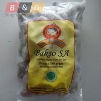 SONY HAJI. Bakso Kombinasi Daging Sapi & Ayam Khas Lampung Isi 50 Pcs.