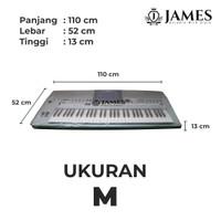 Cover Keyboard Yamaha AKA PSR Series Transparan