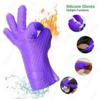 Sarung Tangan Silikon Silicone Gloves Tebel Tahan Panas Oven Baking