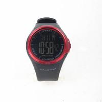 Jam tangan digital pria kalibre Rapoz Black Red 996221 060