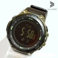 Jam tangan digital pria kalibre Veelo Black 996227 000