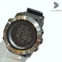 Jam tangan digital pria kalibre myre Black Metal 996223 100