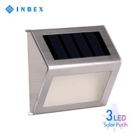 INBEX 3 LED Solar Panel Lampu Jalan/Solar Panel Waterproof Outdoor