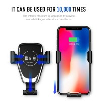 INBEX 10W Car Qi Wireless Charger Fast Charging