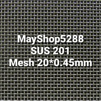 Wire Mesh SS 201 Mesh 20x0.45mm Kawat Nyamuk Stainless Steel
