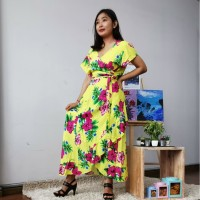 New Product Dress Kimono Panjang Tali Ikat pleh oleh bali