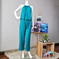 New Product Setelan Atasan Tali Ikat Celana Panjang oleh oleh bali