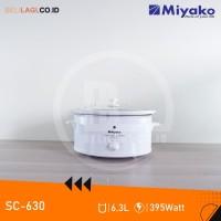 Miyako Slow Cooker SC630 / Pemasak Lambat SC 630 - White - [6L]