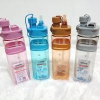 [350GR] A27 Botol Minum Sport 700 ML - Botol Minum Air With Sedotan