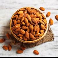 almond roasted 250 gr / almond panggang / roasted almond