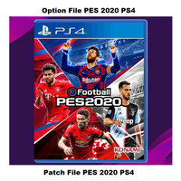 Option File PES 2020 / Patch PES 2020 Full Update (PS4)