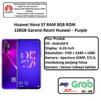 Huawei Nova 5T 8GB/128GB Garansi Resmi - Purple