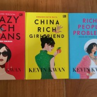 Sepaket Novel Original Kevin Kwan Trilogi Crazy Rich Asians