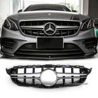 Grille Mercedes Benz W205 Style E63 Iridium Silver