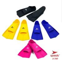 sepatu kaki katak fin speeds diving renang snorkling lx 2401