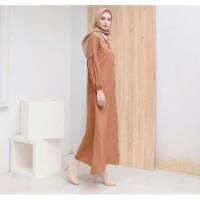 New Lana dress dan outer by vanilla hijab