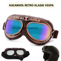 Kacamata Motor Klasik Classic Retro Vespa Vintage Couple UV