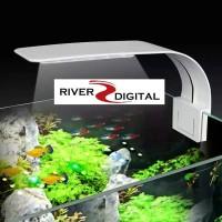 Aquascape LED Light X5 Virgo 10W Super Slim Clip On / Lampu Aquarium