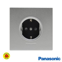 Panasonic Stop Kontak Arde Silver CP 1G WESJP1121MWS Style E Series