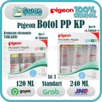 PIGEON Botol Susu PP KP Isi 3 Pcs 120 ml 240 ml (all Varian)