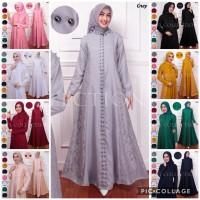 Gamis Luxmote Busui/Brukat Corneli Tulang/Baju Muslim/Fashion Wanita