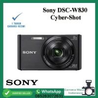 Sony DSC-W830 / Sony W830 Cyber-Shot - Garansi Resmi - BLACK