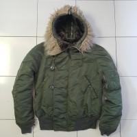 Jaket Parka Army Military N-2B Alpha Industries Winter Coat Jacket N2B