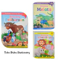 Buku Mewarnai Anak Seri Binatang / Kertas HVS Tebal