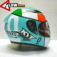 Terpopuler ! Helm KYT Vendetta 2 Andrea Locatelli Leopard 5758