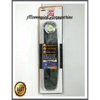 Kaca Spion Dalam Mobil AUTOCOM 30cm With Analog Watch Limited