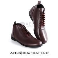 [CRAZY DEALS] Aegis - Ignite LITE Brown Exclusive Sepatu Boots Pria