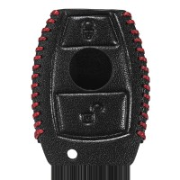 Cover Kunci Mobil Bahan Kulit Asli untuk Mercedes Benz W203 W210