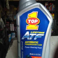 TOP 1 LIFETIME ATF POWER STEERING FLUID OIL TRANMISI MATIC 1ltr