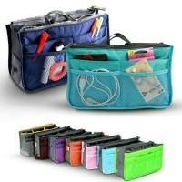 Tas Travel Multifungsi Pouch Gadget Korean Dual Bag In Organizer Zip