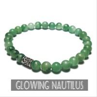 Gelang Batu Asli Brazilian Green Jade
