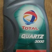 Oli Mesin Mobil Total Quartz 3000 20W-50 API SJCF 1 Liter Asli