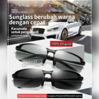 Kacamata Hitam Pria Original Kacamata Siang & malam Photocromic