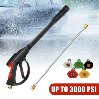 【❤】 3000PSI SPRAY GUN & WAND LANCE & 5PCS TIPS POWER HIGH